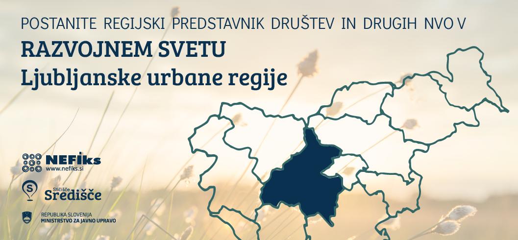 Postanite regijski predstavnik v Razvojnem svetu regije in/ali upravičenec za glasovanje v postopku izbora predstavnika