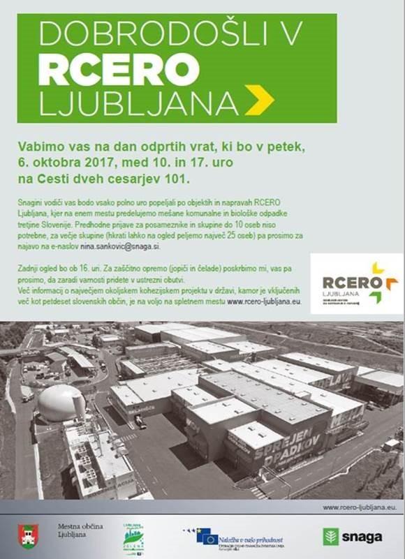 Dan odprtih vrat RCERO Ljubljana