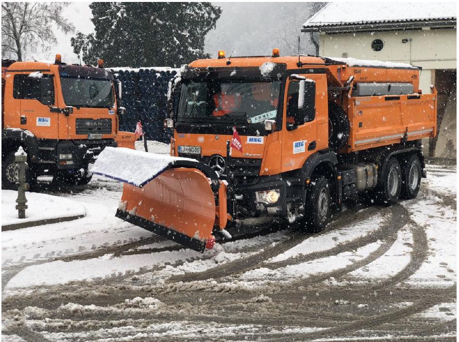 Obvestilo glede izvajanja zimske službe