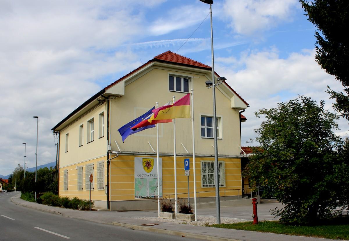Obvestilo o objavi javnega naročila Preureditev treh križišč v OIC Trzin