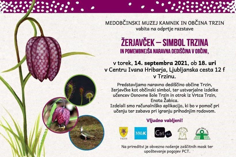 Odprtje razstave ŽERJAVČEK - SIMBOL TRZINA